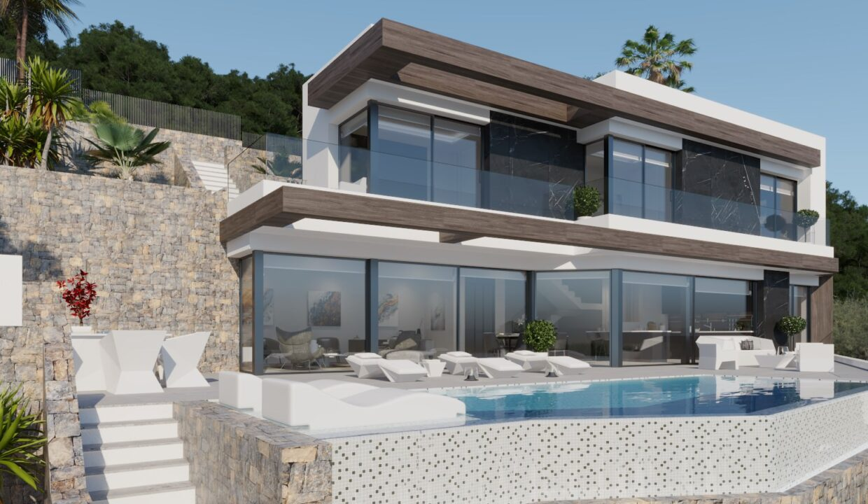 4-Bed-4-Bath-Villa-of-luxury-For-Sale-in-Calpe-ref-A-2826