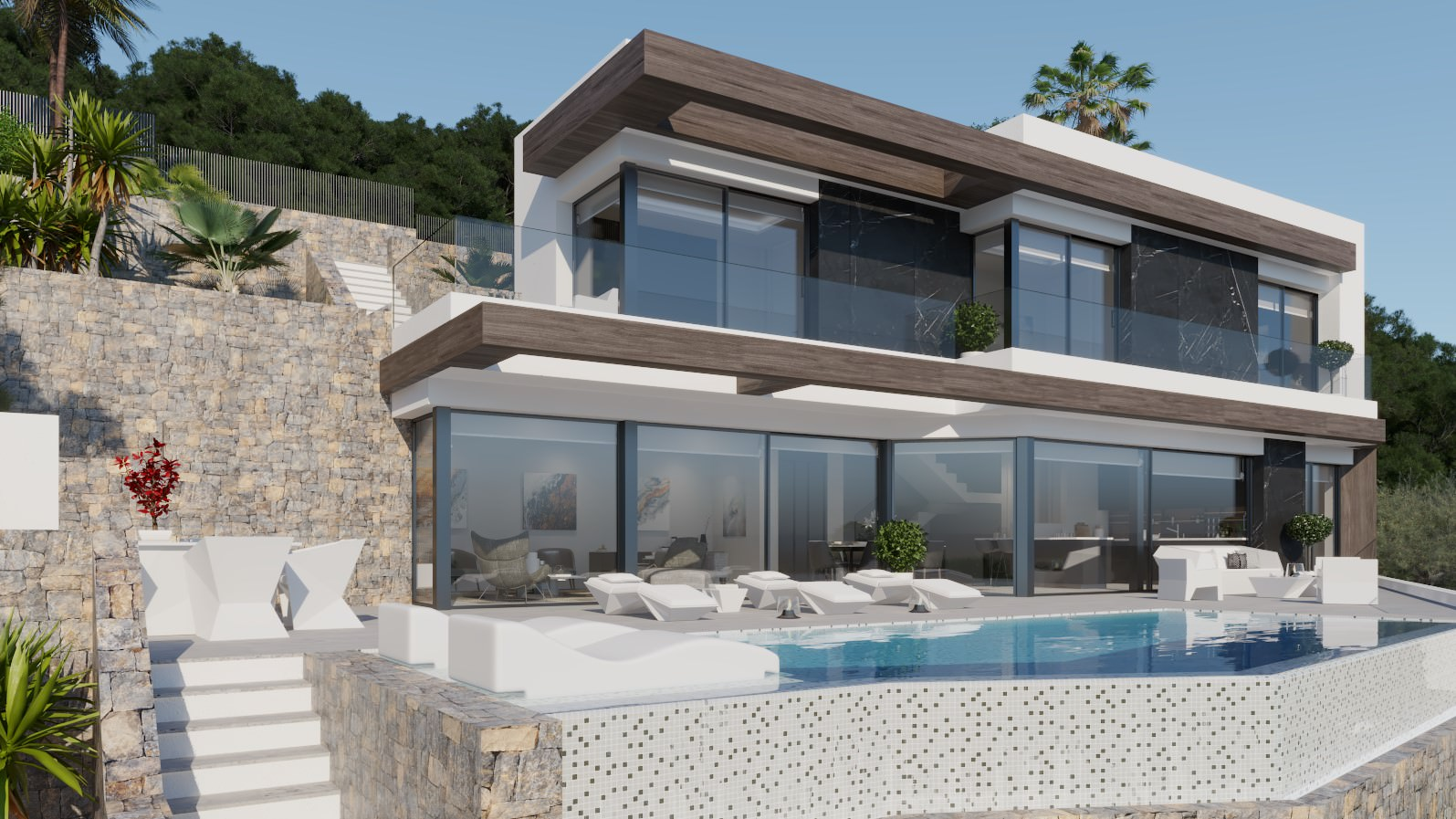 4 Bed 4 Bath Villa of luxury For Sale in Calpe ref A – 2826