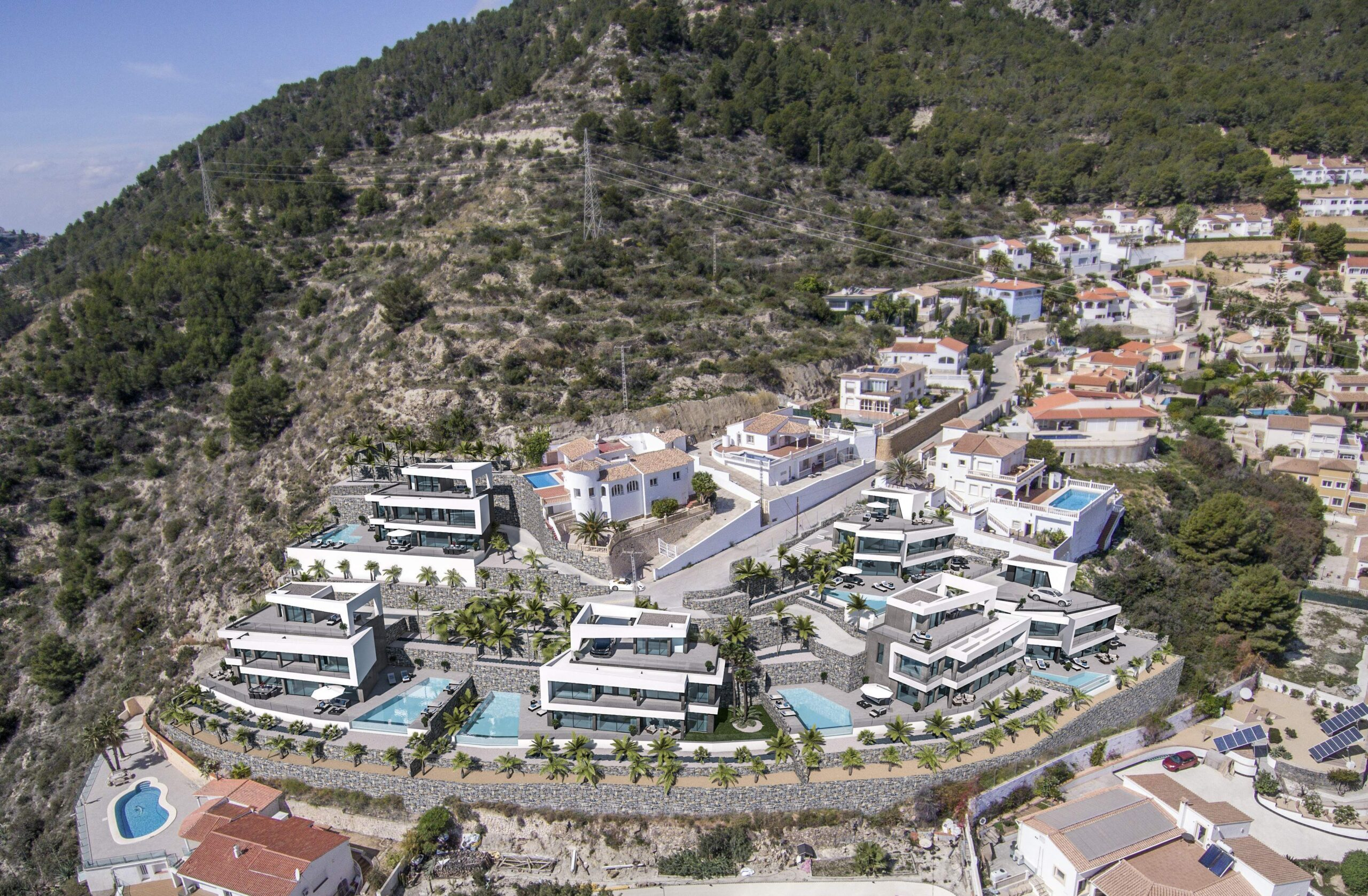 4 Bed 5 Bath Villa of luxury For Sale in Calpe ref A – 2738
