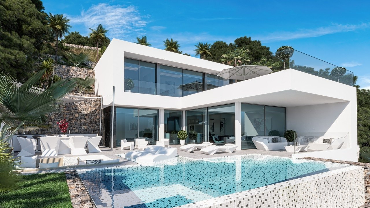 4 Bed 5 Bath Villa of luxury For Sale in Calpe ref A – 2825